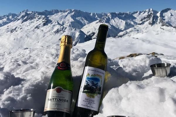 Luxury Skiing and dining in the Alps