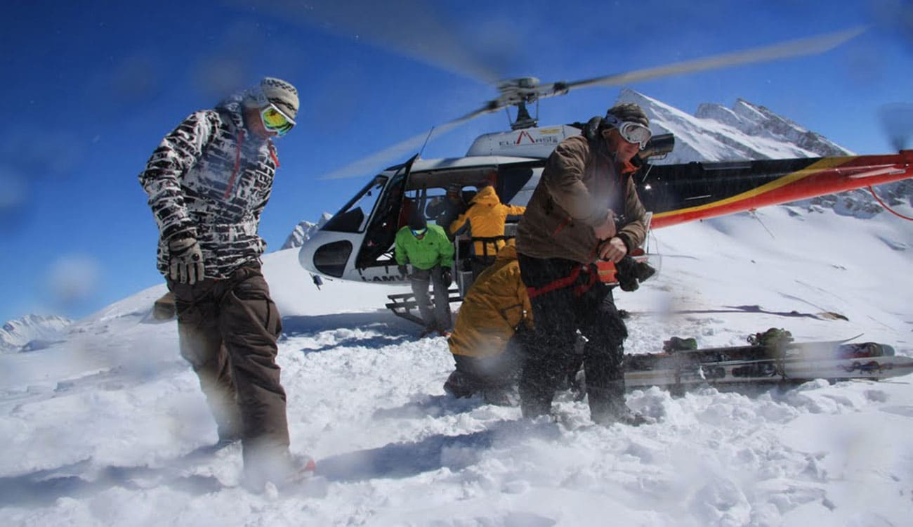 Heli Skiing in Europe