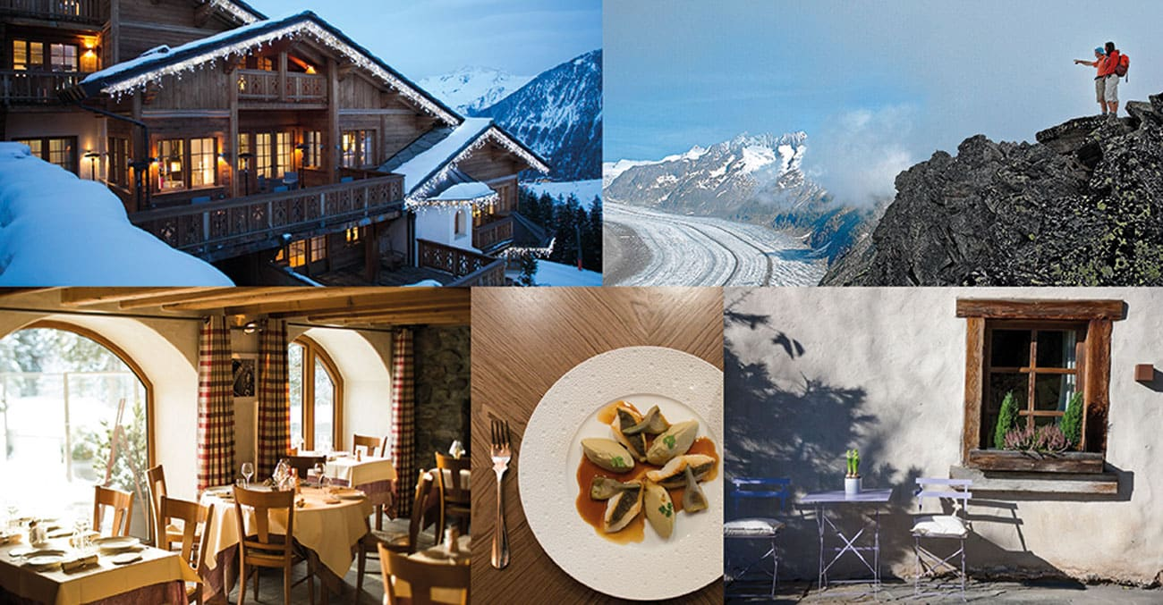 Luxury Alpine Vacation Collage3
