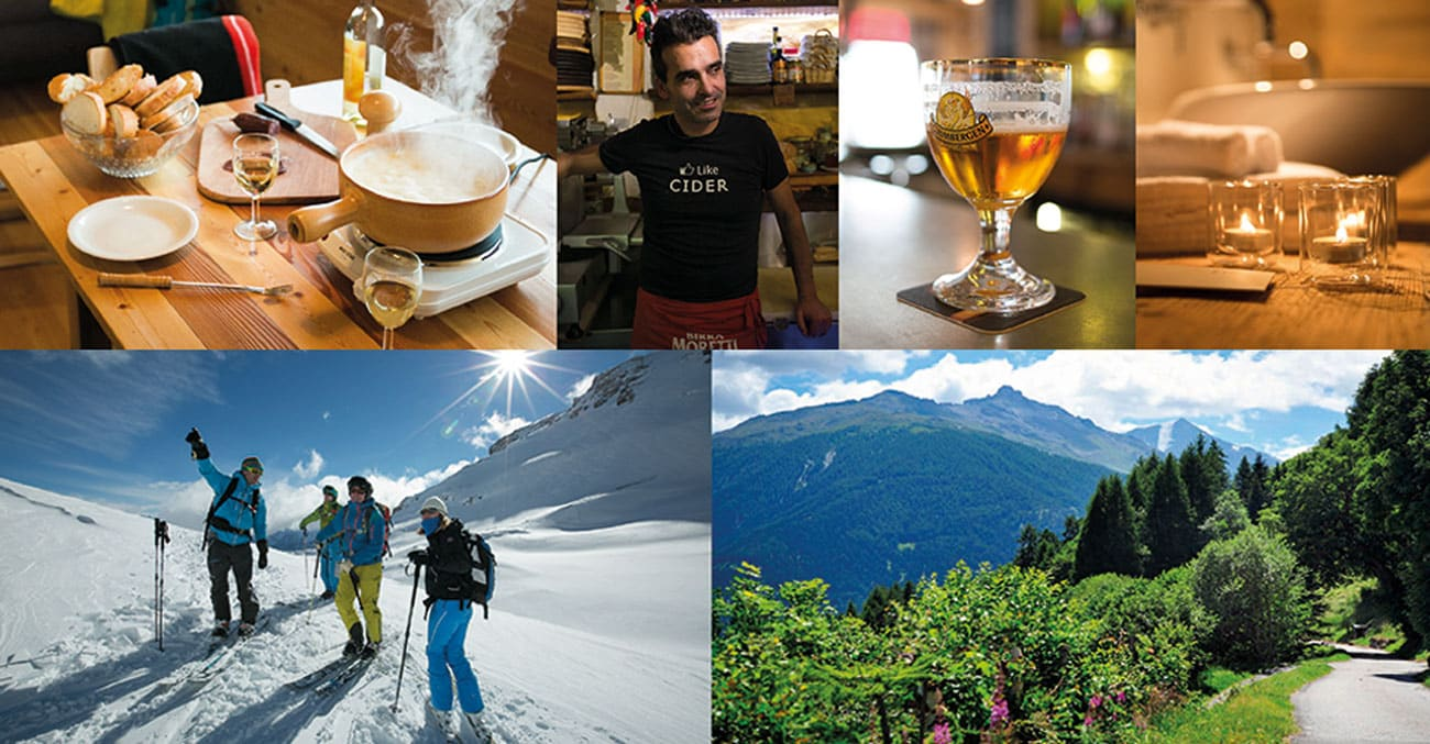Luxury Alpine Vacation Collage 2