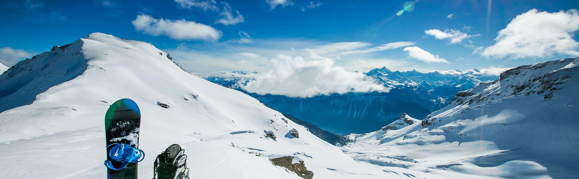 Heli Boarding in the Alps
