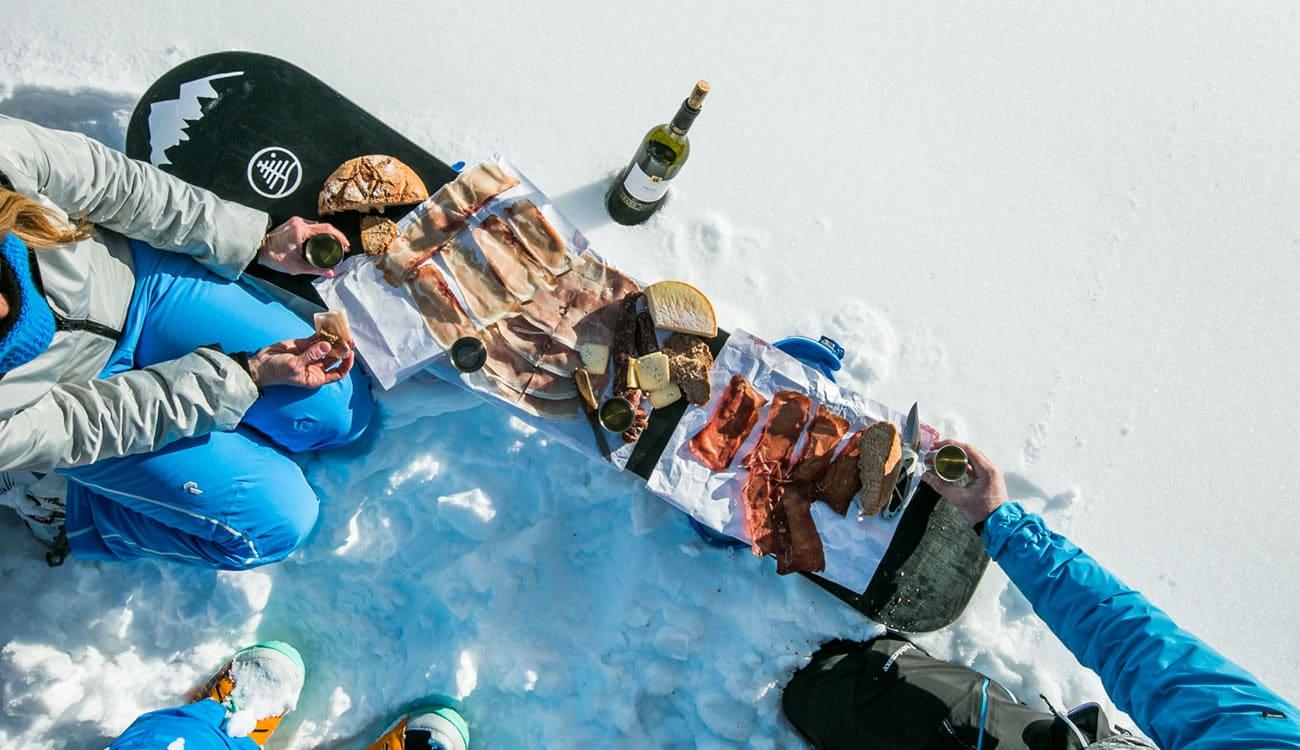 Luxury Snowboarding Trip