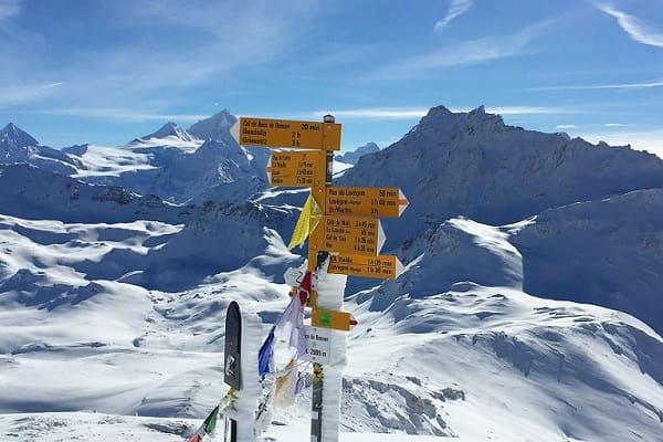 Alpine crossroads