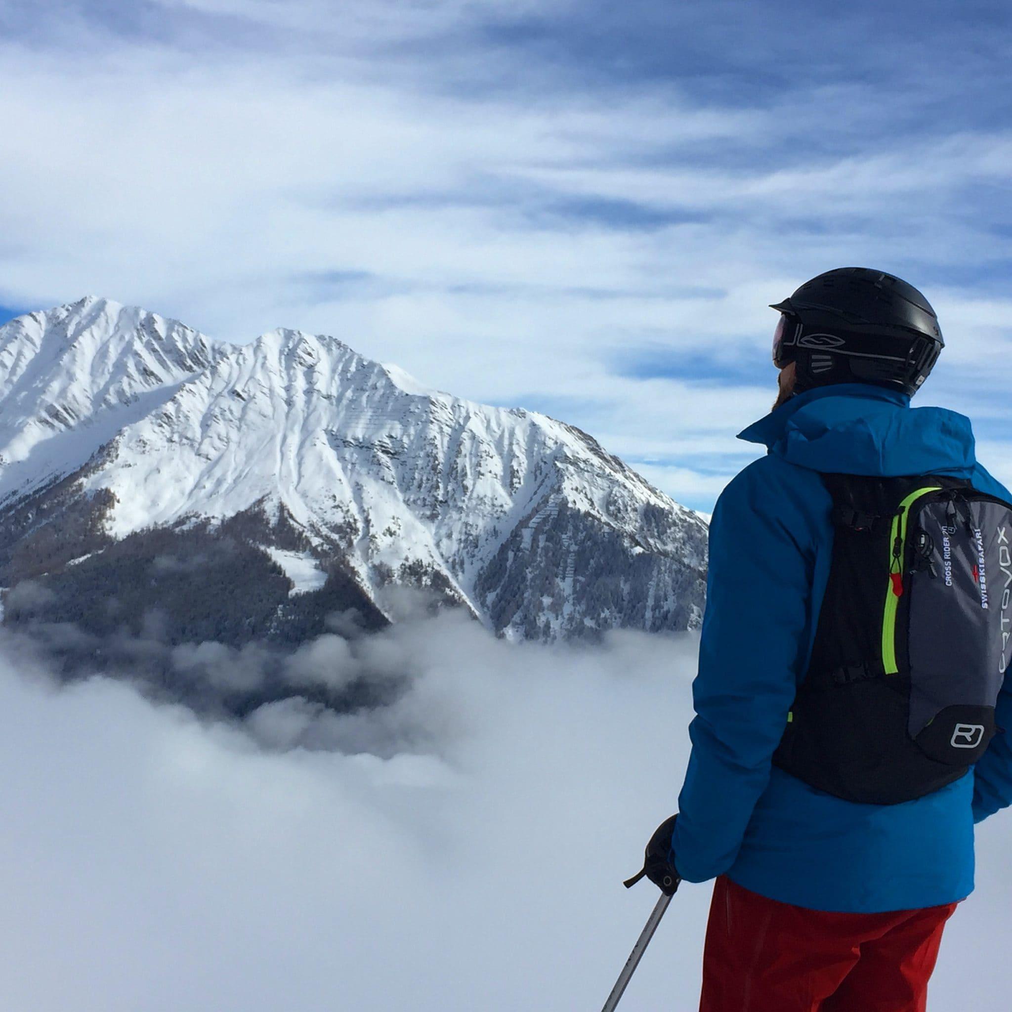Skiing Courmayeur