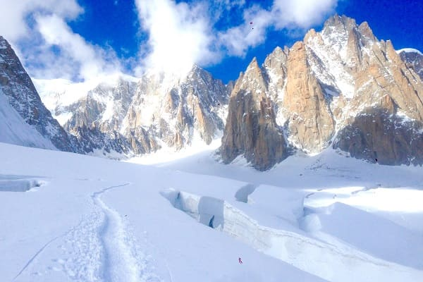 Ski wild backcountry with a guide