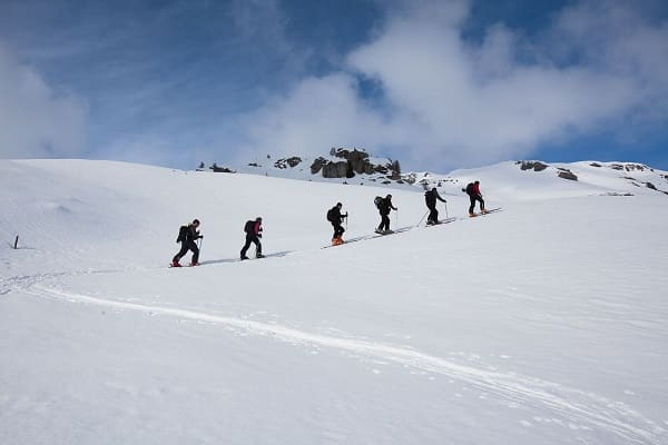 Ski touring in Europe with Swisskisafari