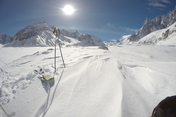Ski Safari on the haute route