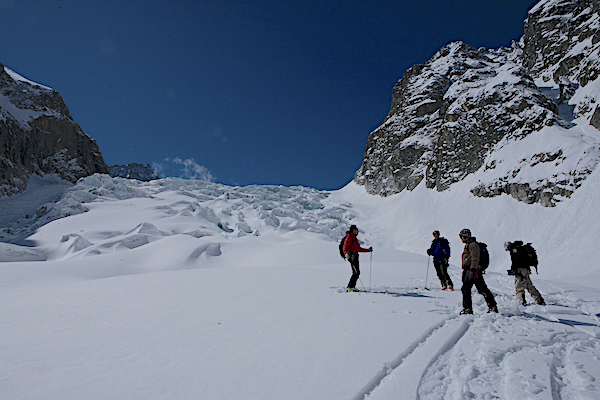 Skiing in the Dolomites and the Alps