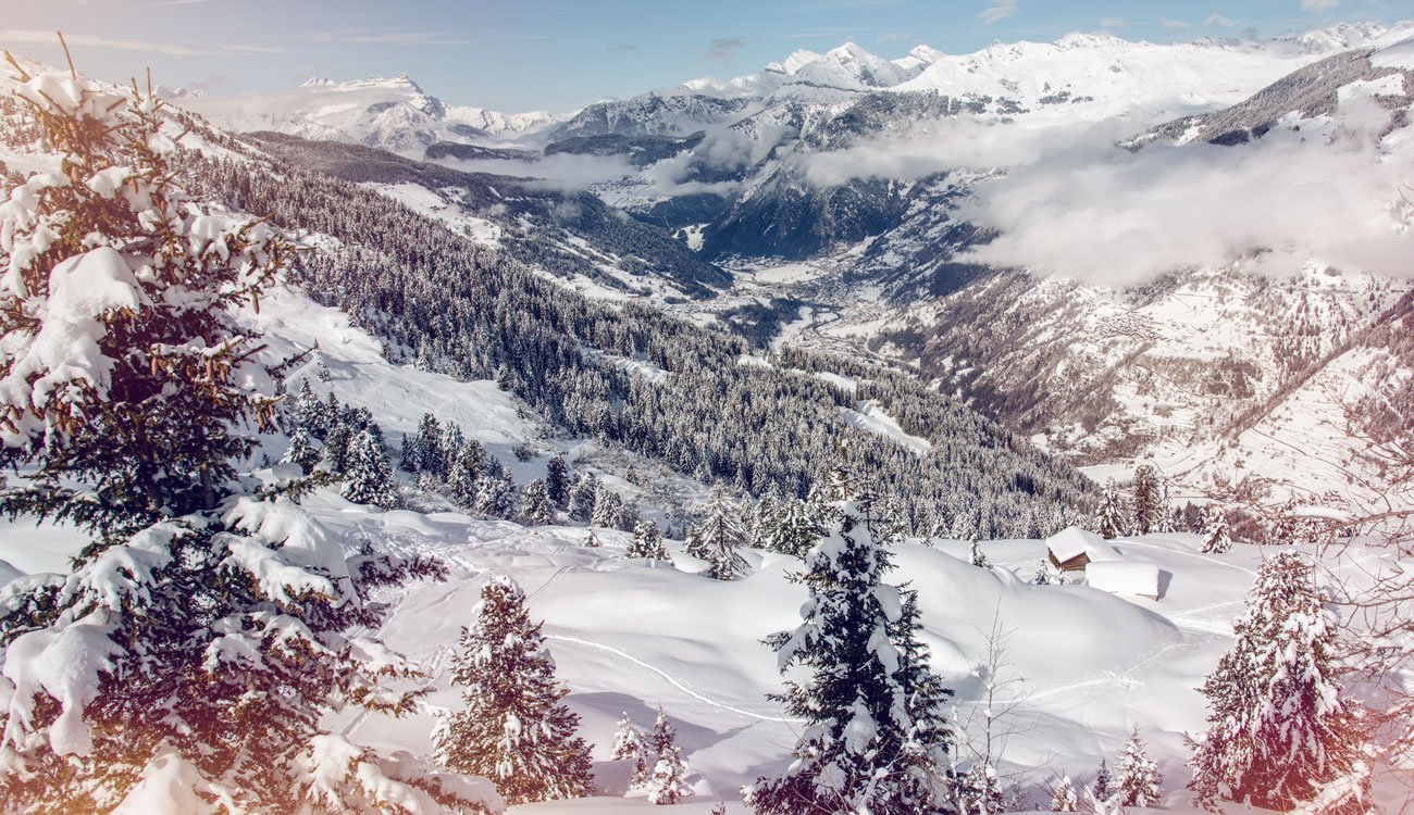 Winter Alpine Travel Through Three Countries off The Grid in Switzerland, France and Italy with Swiss Ski Safari